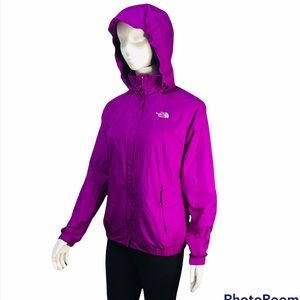 THE NORTH FACE RAIN HOODIE JACKET SIZE S P